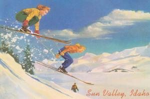 Women Skiers, Sun Valley