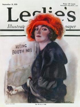 Women Voting, 1920