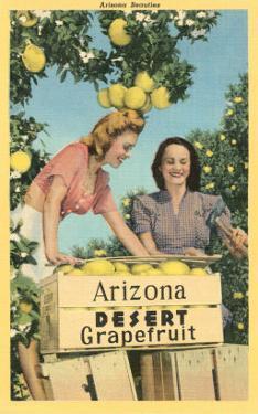 Women with Grapefruit, Arizona