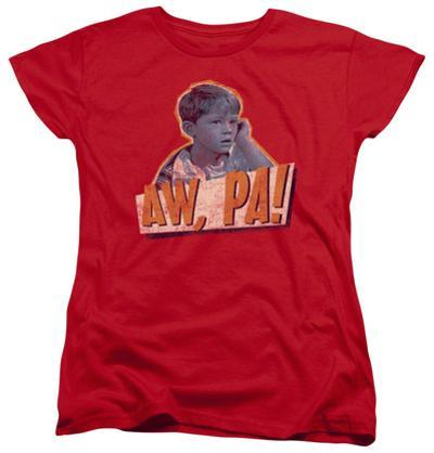 Womens: Andy Griffith - Aw Pa