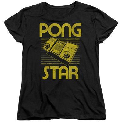 Womens: Atari: Pong- Distressed Star