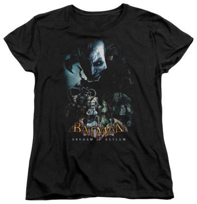 Womens: Batman Arkham Asylum - Five Against One