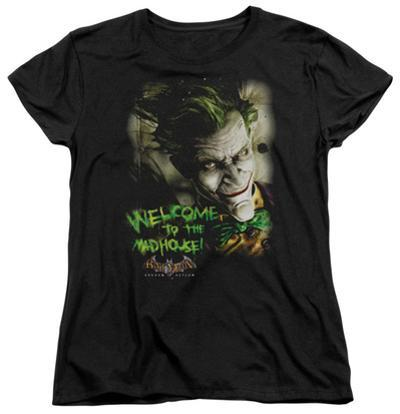 Womens: Batman Arkham Asylum - Welcome To The Madhouse