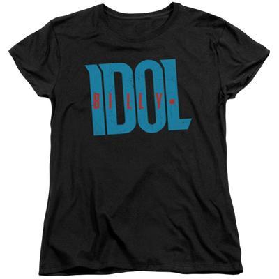 Womens: Billy Idol- Logo