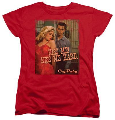 Womens: Cry Baby - Kiss Me