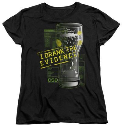 Womens: CSI - I Drank The Evidence
