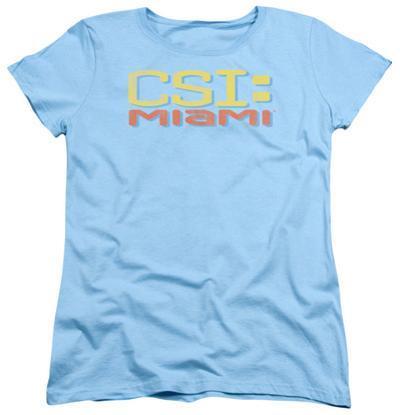 Womens: CSI Miami - Logo Distressed