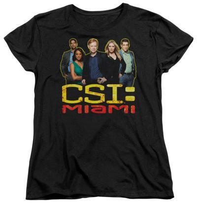 Womens: CSI Miami - The Cast In Black