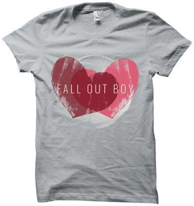 Womens: Fallout Boy- Weathered Hearts