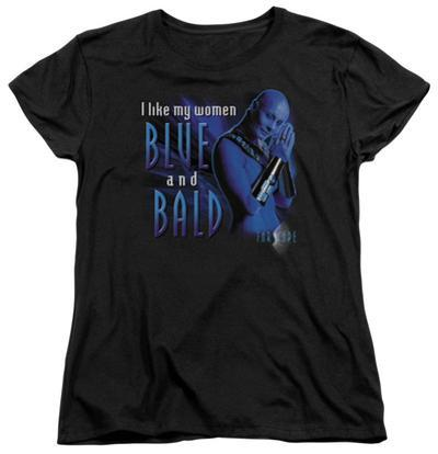 Womens: Farscape - Blue And Bald