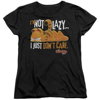 Womens: Garfield - Not Lazy