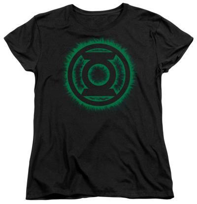 Womens: Green Lantern - Green Flame Logo
