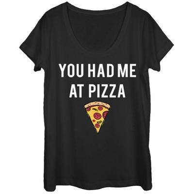Womens: Had Me At Pizza Scoop Neck