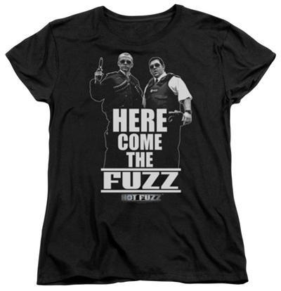 Womens: Hot Fuzz - Here Come The Fuzz