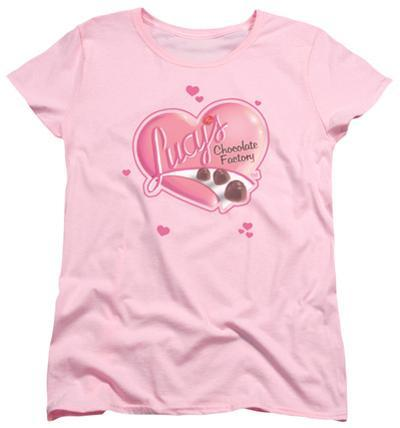 Womens: I Love Lucy - Chocolate Smudges