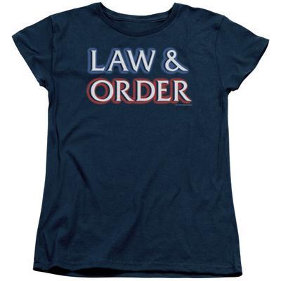 Womens: Law & Order - Logo