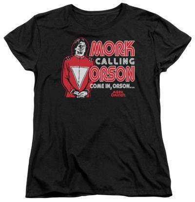 Womens: Mork & Mindy - Mork Calling Orson