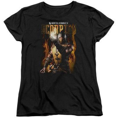 Womens: Mortal Kombat- Scorpion Calling Fire