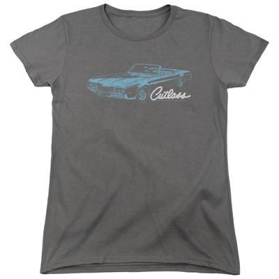 Womens: Oldsmobile- Distressed 68 Cutlass Artwork