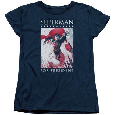 Womens: Superman- Hero For President