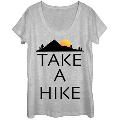 Womens: Take A Hike Scoop Neck