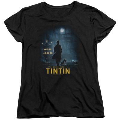 Womens: The Adventures of Tintin - Title Poster
