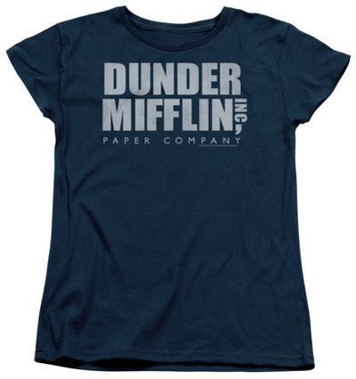 Womens: The Office - Dunder Mifflin Distressed