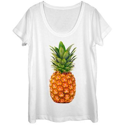 Womens: The Pineapple Scoop Neck
