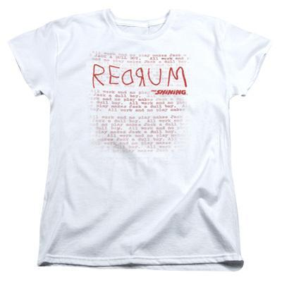 Womens: The Shining/Redrum Scrawl