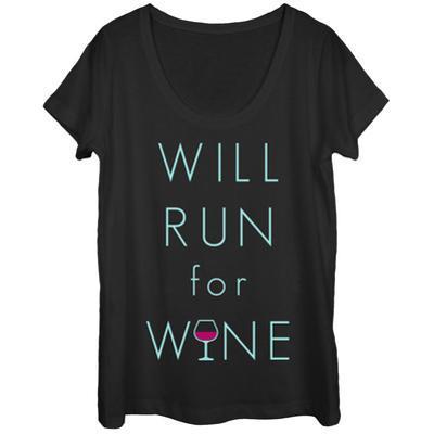 Womens: Vino Run Scoop Neck