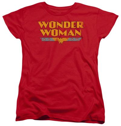 Womens: Wonder Woman - Wonder Woman Logo