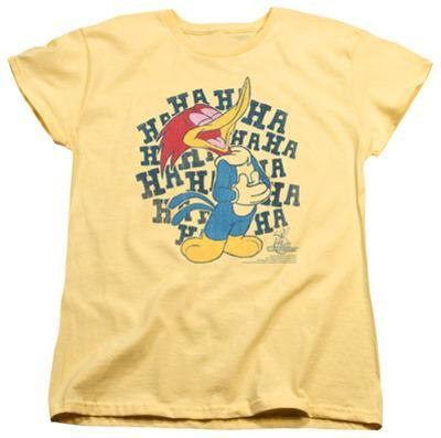 Womens: Woody Woodpecker - Laugh It Up