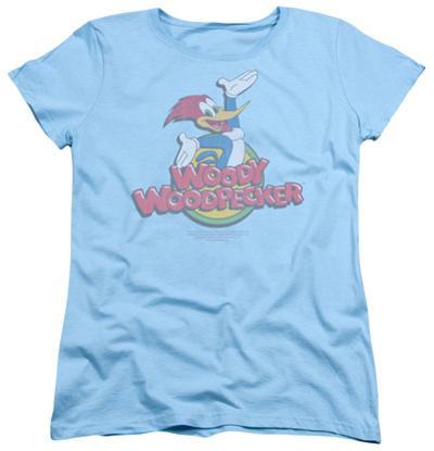 Womens: Woody Woodpecker - Retro Fade