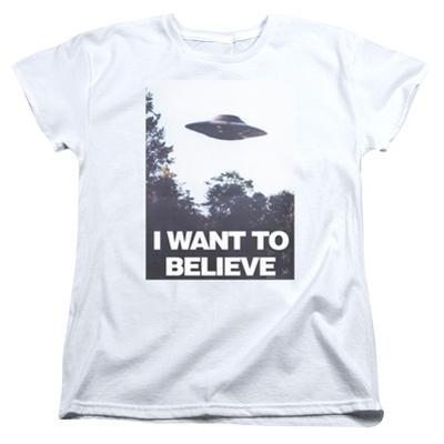 Womens: X Files- Believe Poster
