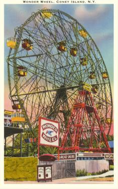 Wonder Wheel, Coney Island, New York City