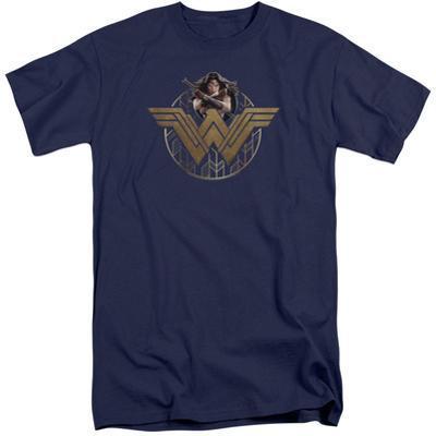 Wonder Woman Movie - Power Stance and Emblem (Big & Tall)