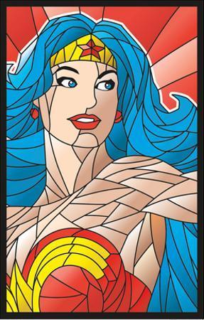 Wonder Woman- Objet D'Art Princess Blacklight Poster