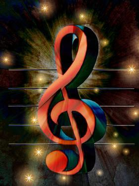Abstract Clef Music Musically by Wonderful Dream