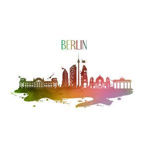 Berlin Germany Skyline by Wonderful Dream
