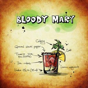 Bloody Mary Cocktail by Wonderful Dream