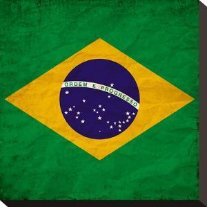 Brasil Flag by Wonderful Dream