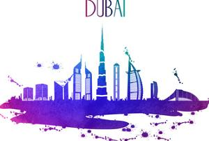 Dubai Skyline by Wonderful Dream