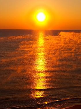 Holiday Sunrise Fog by Wonderful Dream
