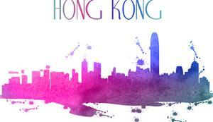 Hong Kong Skyline by Wonderful Dream