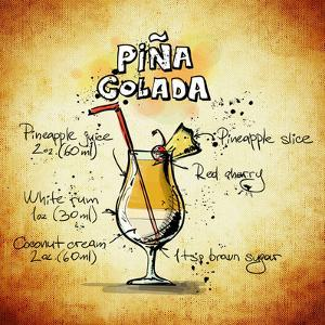 Pina Colada Cocktail by Wonderful Dream