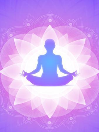 Purple Yoga Faith Meditation