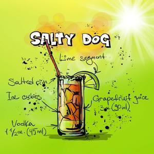 Salty Dog Cocktail by Wonderful Dream