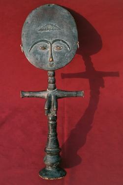 Wood Statuette Symbolizing Fertility, Ashanti Civilization, Ghana