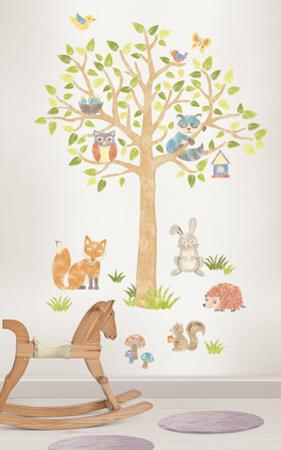 Woodlands Super Wall Art Kit
