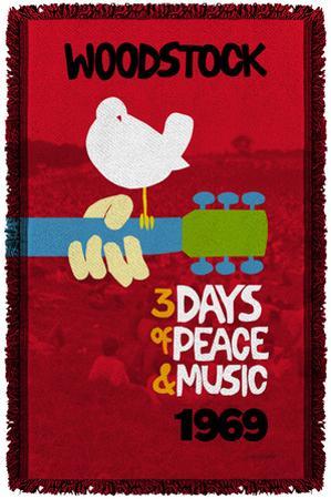 Woodstock - Classic Woven Throw